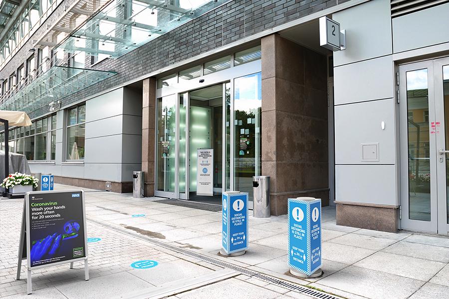 Entrance Graphics