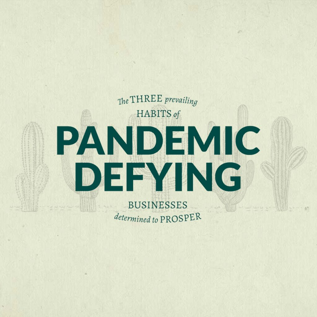 The 3 habits of pandemic defying businesses